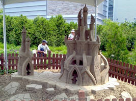 Fantasy Castle by Iscariath
