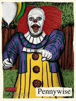Pennywise by ChrisMonvel