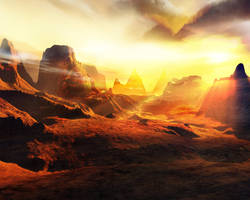 Terragen - Monuments_ADV by tigaer