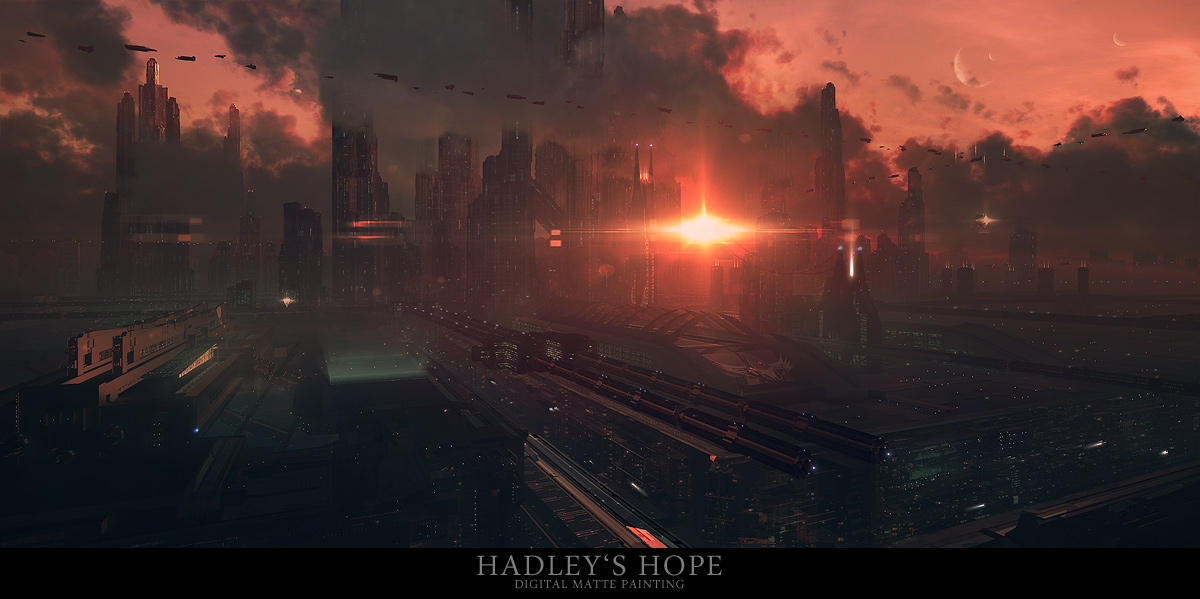Hadley's Hope by tigaer