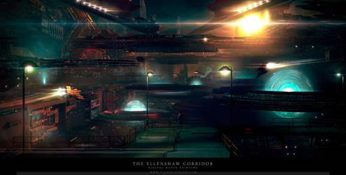 The Ellenshaw Corridor by tigaer