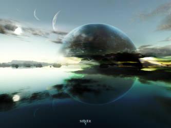 Terragen - Silver by tigaer