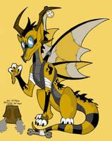Spyro - Orville the Dragon by KaylaTheDragoness
