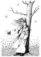 +Natanael under a tree+ by radamenes