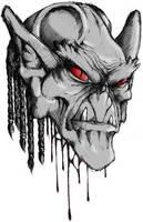 +Head of a demon+ by radamenes
