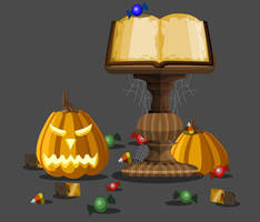 Mogloween Storybook Collector's Edition by Occavatra
