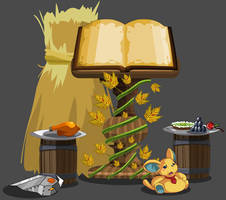 Thankstaking Storybook Collector's Edition by Occavatra