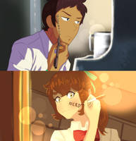Your Name- Plance/Pidgance AU by FLO-PPY