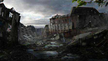 Beautiful Desolaton by frenic