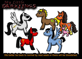 My Little Darklings by leiko
