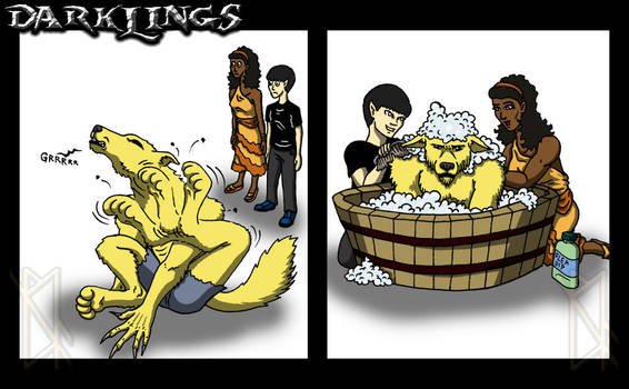 Darklings - Got Fleas? by leiko