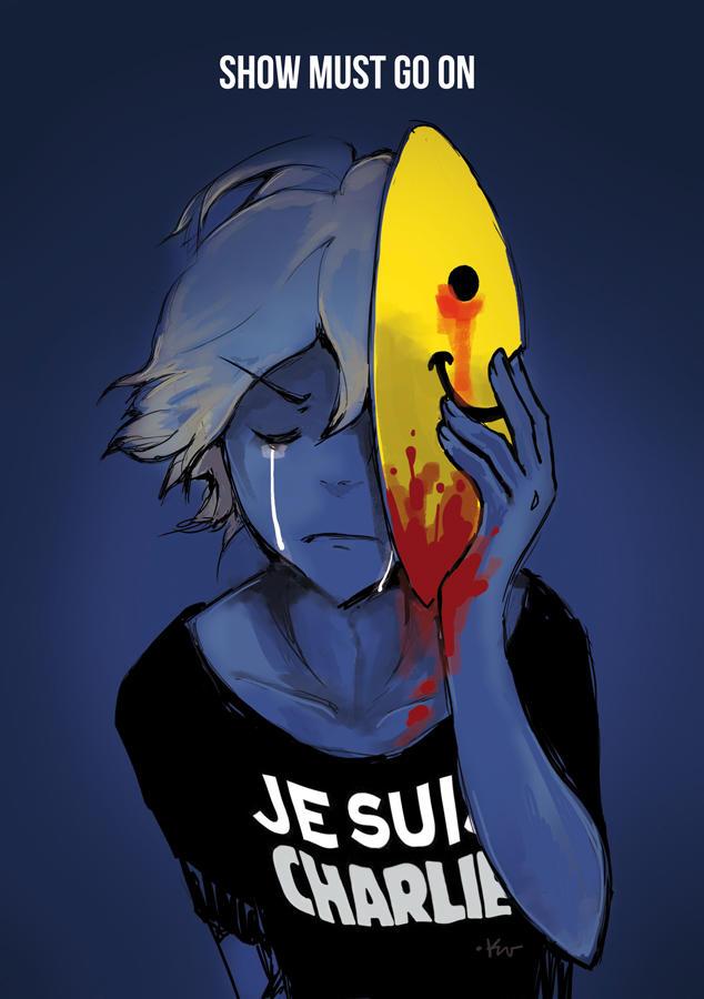 JeSuisCharlie by Ponchounette