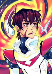 Keith from Voltron by Ponchounette