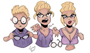 New Glasses - TG Commission by Grumpy-TG