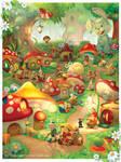 Fairy Village by incas