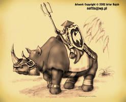 Rhinorider by incas