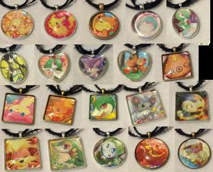Shiny Collection Pendants by PakajunaTufty