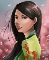 Mulan by ewa87j