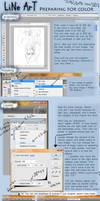 Line Art Tutorial by JohnYume