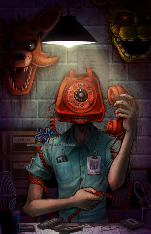 Phone Guy by JohnYume