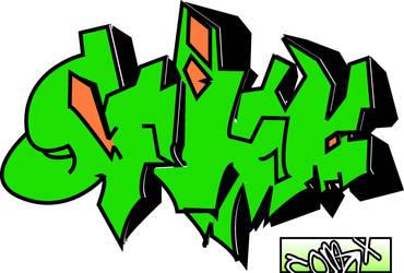 Ill graffiti by IronMan9780