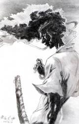 Afro The No.1 Samurai by IronMan9780