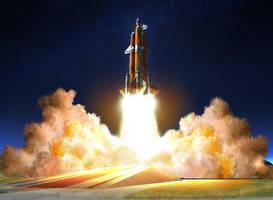 MASS KSP Rocket by E1-Roberto