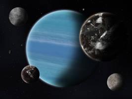 Confederation of Free Moons by ART5EC