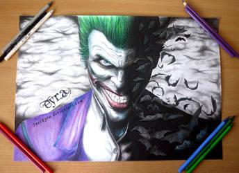Joker - FanArt by JustEyra by JustEyra