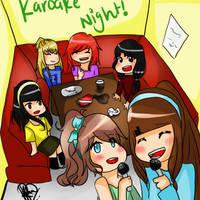Karaoke Night! by fameena