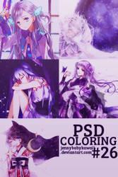 [PSD] PSD coloring #26 by JennyBabyKawaii