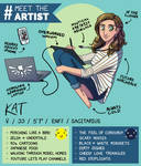 Meet The Artist by angelwingkitty