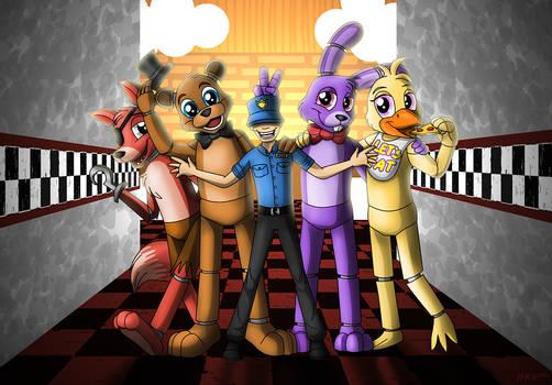 Five Nights of Fun by NatLeo