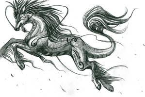 qilin by obiewolf