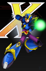 Megaman X - Ultimate Armor by Comics-in-Disguise