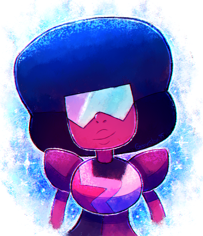 GARNET MY MAMA! FEW DAYS AGO I POST THIS DRAWING AND I SEE ON MY FACEBOOK THE SNEAK PEEK FOR THE NEW EPISODE THE STEVEN UNIVERSE OO!!! Art tumblr : genysart.tumblr.com/post/13546…
