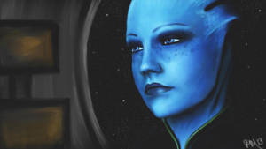 -Liara T'Soni- by SoulRansome