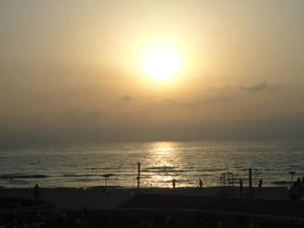 Ashdod sunset by BLA777