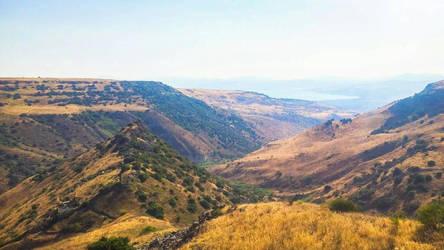 Gamla and Sea of Galilee by BLA777