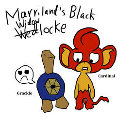 Marriland's Black Widowlocke by GrantingTheRant