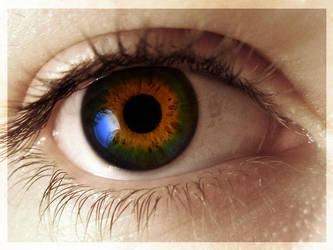 Rainbow eye by Anouk84