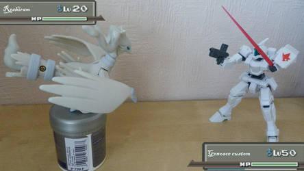 Pokemon vs Gundam by keroroslayer