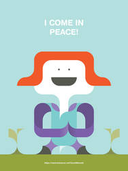 I-Come-In-Peace-Behance by monsteer