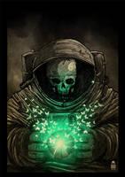 Dead astronaut by motsart