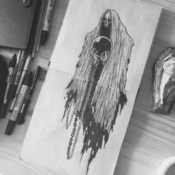 ghost by motsart