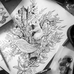ink wip by motsart