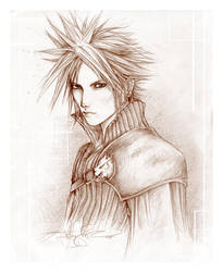 -- final fantasy AC: cloud -- by jadedice