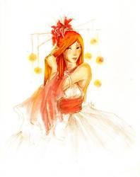 -- fire lotus (print avail) by jadedice