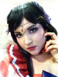 Sailor Mars Closeup by Misha-Rbk