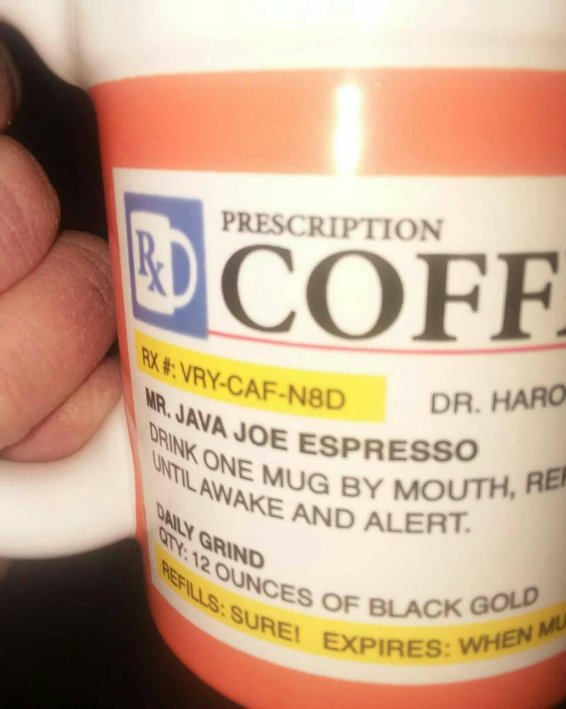 Funny Coffee Mug by Tinytoon70